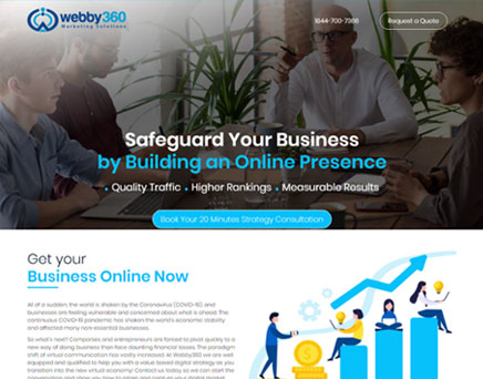 Top Creative Digital Online Marketing Agency | Webby360